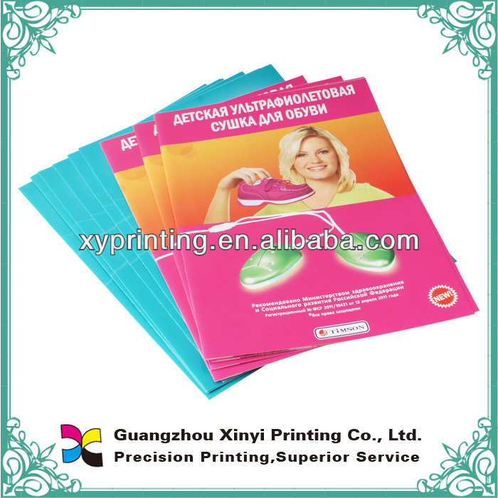 customized design pamphlets printing