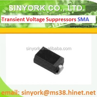SMAJ Series, 400W, 5V~400V, SMA, Transient Voltage Suppressor Diode (TVS)