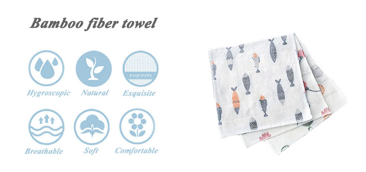 Promotion cooling christmas sublimation bamboo kitchen towel