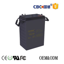long cycle life high rate deep cycle lead acid battery 6V380AH