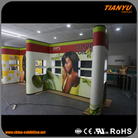 Universal Portable Pvc Pop Up Display Stand For Products