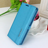 Fancy pu leather cell phone flip case for oppo r831k n1