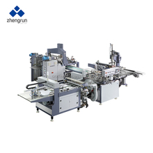 Zhengrun Automatic machine to make cardboard boxes