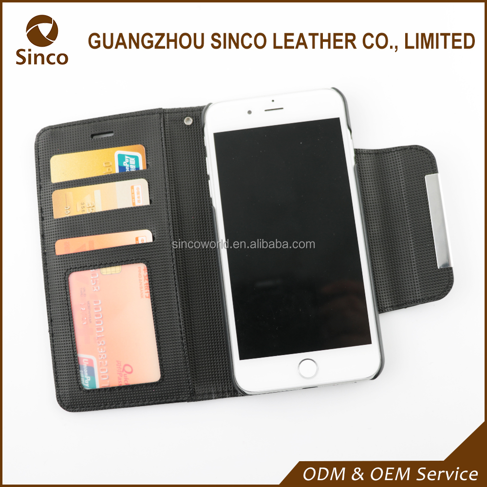 Mobile accessories supplier OEM custom new design phone wallet case