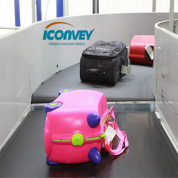 Shenzhen iConvey Luggage conveyor for airport application