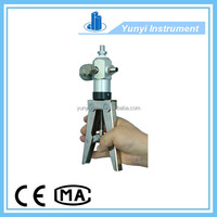 hand vacuum pump pressure calibration
