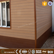 noise protection wpc wall siding for house decoration