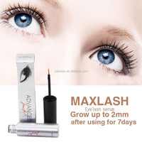 MAXLASH Natural Eyelash Growth Serum (Small Wooden Antique Desktop Cosmetic Organiser)