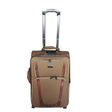 2015 best designer 4 pieces EVA two wheels trolley luggage bag