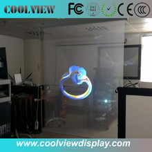 Transparent Holographic Foil stage projection