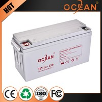 12V 150ah premium quality extraordinary best quality control deep cycle battery