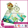 100% cotton digital printed hand towel made in China