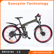 Suncycle 48 volt electric bicycle lifepo4 battery factory motocross wholesale dirt bike