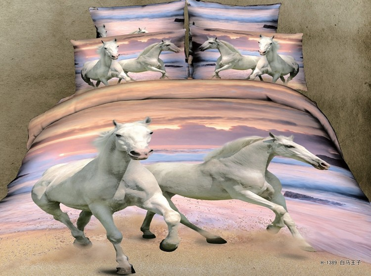 single/double/full/queen/(Super) king size bed sheet 3D printing bedding set /bed sheet/duvet cover/pillow cover
