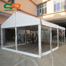 Custom fashion PVC cover marquee clear party tent for wedding