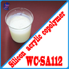 Excellent compatibility hard acrylic adhesive for marble coating