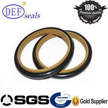 Teflon/PTFE Compact Piston Step Seal, Hydraulic Rod Seal
