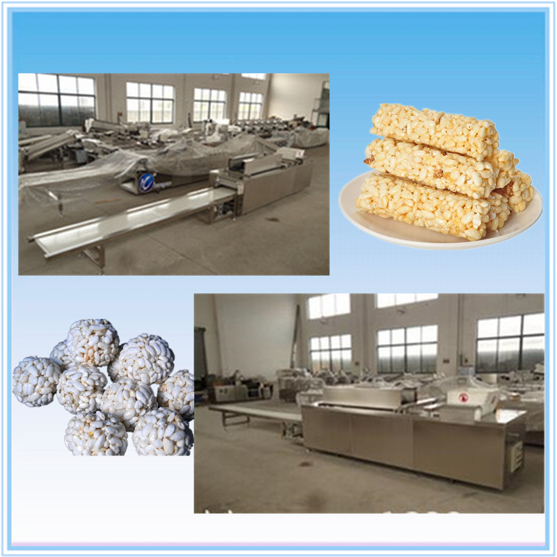 Best Snack Peanut Brittle Cereal Bar Making Machine / Cereal Bar Maker