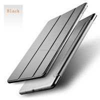 Anti-shock Leather case, 2017 Ultra Slim 360 Protective Magnetic Smart Leather Tablet pc case for new ipad