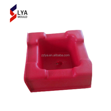 hollow concrete interlocking clips plastic block mold