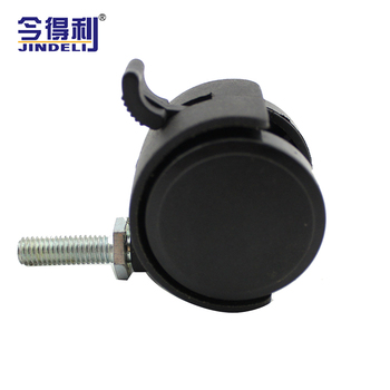 hardware fitting wholesale office chair luggage caster wheel bed suitcase caster wheels