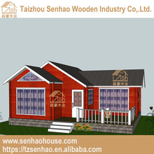 Senhao environmental low cost beautiful design the iaana log house