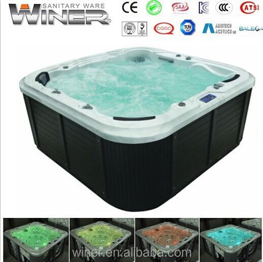 outdoor whirlpool bathtub garden spa massage spa buy. Black Bedroom Furniture Sets. Home Design Ideas