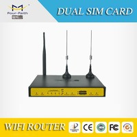 F3432 3g vpn router dual sim card router wifi router for ATM pos network cameras for security surveillance and remote