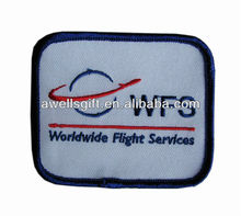 flight service logo on Embroidery Patch Motif Applique Sewing Craft
