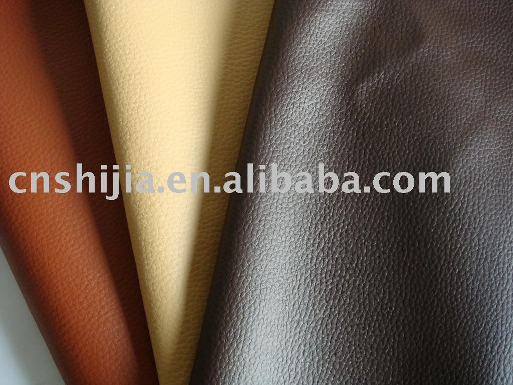 PVC leather for sofa, Sami-PU, car seat cover