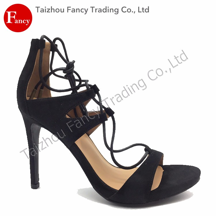 Eco-Friendly China Wholesale New Designs Sex High Heel Women Sandals