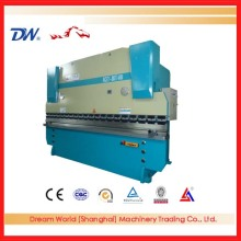 WC67Y-100T/3200 , manual sheet metal bender , iron plate hydraulic bending machine , aluminum sheet cnc hydraulic press brake
