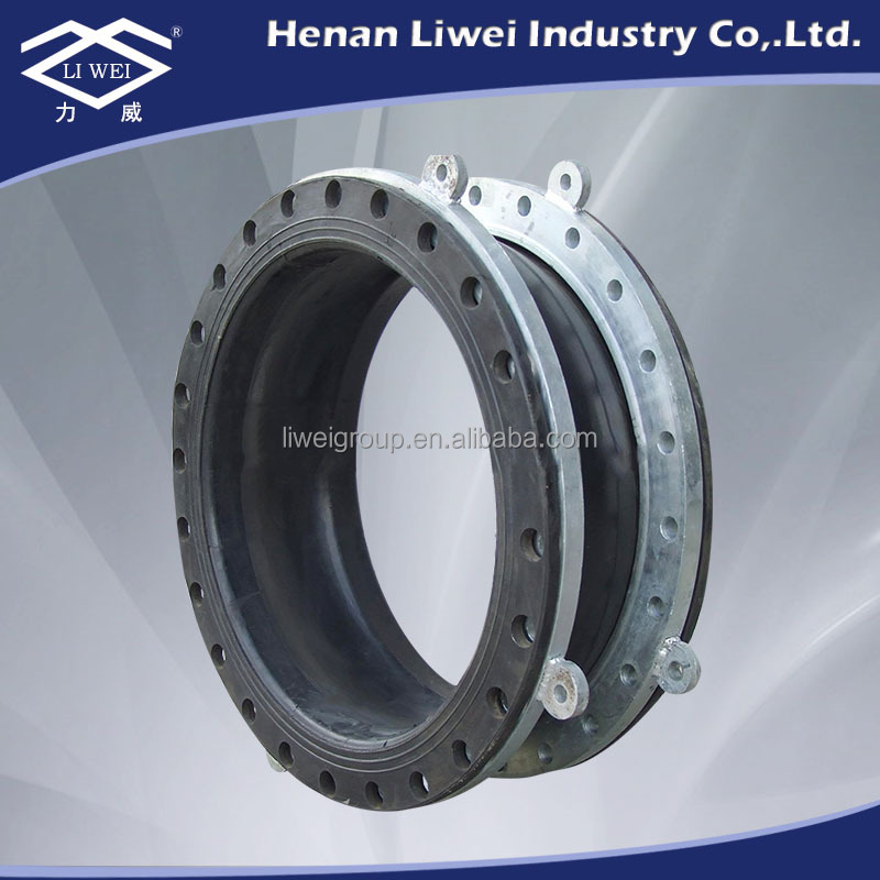 Single-sphere Floating Flange Hypalon Rubber Expansion Joint