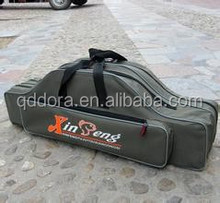2014 new style canvas waterproof fishing rod bag fly fishing bag