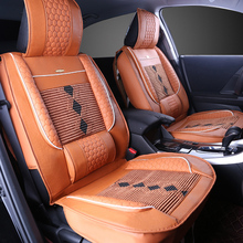 Hot Selling Full-envelop Leather Auto Car Seat Cover For Universal Cars