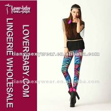2012 new arrival colorful zebra stripe tight legging sex hot