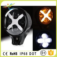 New Model! Colorful new type round 6'' Auxiliary Light 60W 6Iinch C REE LED Headlight, fog lighht For Jeep Wrangler