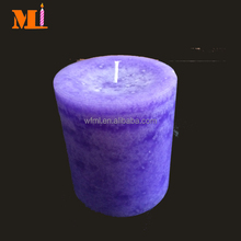Excellent Quality Purple Color Pillar Candle Manufacturers Cheap