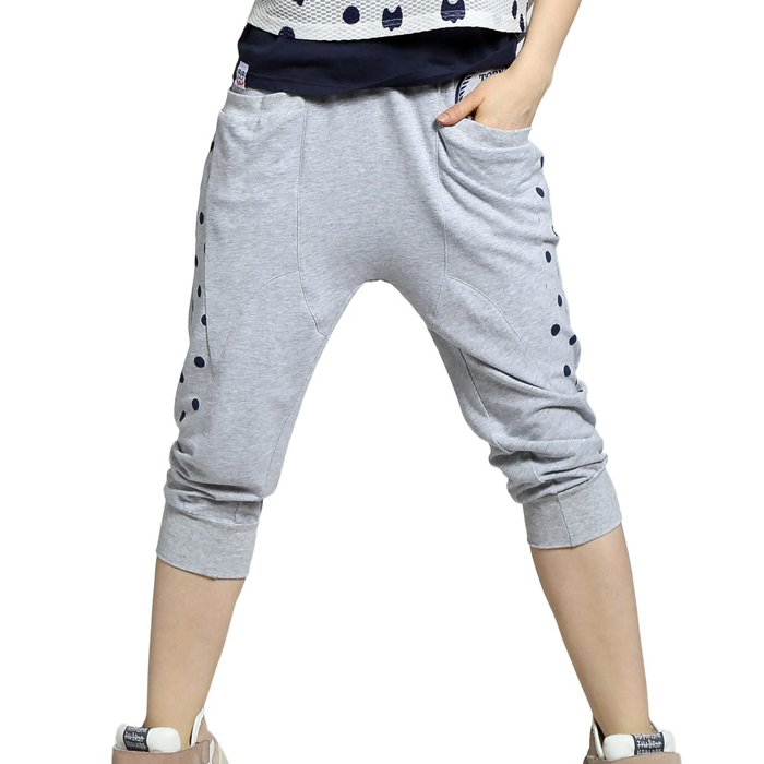 High quality trendy new style 100%cotton balloon pants