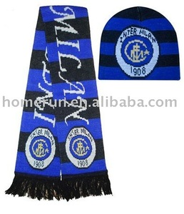 World Cup scarf and hat set/Fans Scarf/Club Scarf