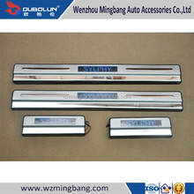 STAINLESS STEEL LED Sentra Door Sill plate for 2012-2014 Sylphy Ni-ssan
