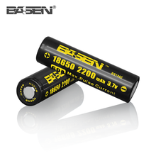Basen 3.7v deep cycle battery cylindrical lithium ion battery 18650 2200mAh 60A 3.7v E-cig battery