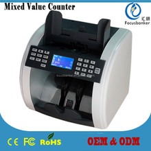 ( heavy-duty ! ) Mix Value Cash Counting Machine with CIS Sensor for Indian rupee(INR)