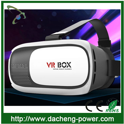 Hotly selling vr box 2 virtual reality 3d vr box 2.0 for iphone and samsung