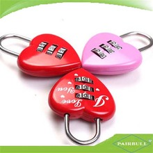 Safety combination padlock with colorful hot sell number password coded lock