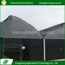 New design agriculture plastic film high tunnel sawtooth greenhouse
