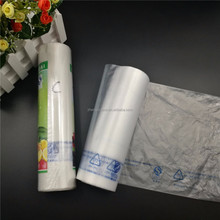 High quality pe flat bags on roll made in China