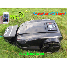 Smartphone APP WIFI Control Robot Lawn Mower/ride on lawn mower electric
