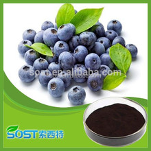 Bilberry extract anthocyanin with competitive price