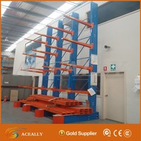 Industrial vertical pipe rack for steel pipe storage system